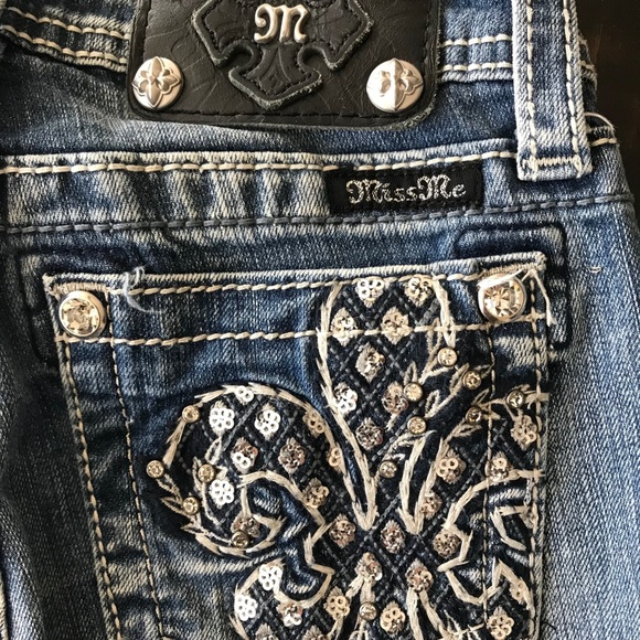 Miss Me Other - Miss Me Cropped Jeans
